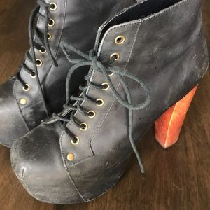 Jeffrey Campbell Lita - Leather